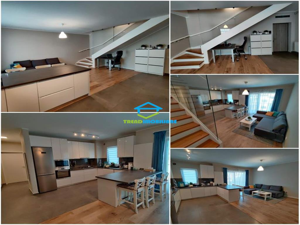 Penthouse cu 4 camere, zona Pod Fabricii, Parcare Subterana, 2 bai, 97mp