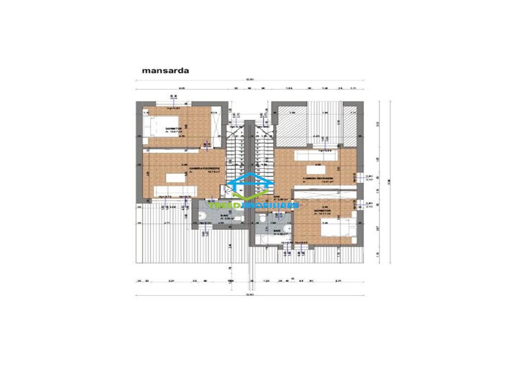 Duplex Buna Ziua zona Macesului 150 mp utili 230 mp teren