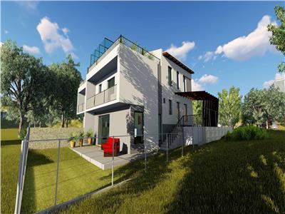 Duplex cu terasa circulabila - Borhanci - priveliste superba