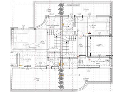 Duplex cu 225 mp utili  panorama  Andrei Muresanu  teren 400mp