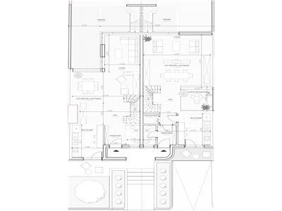 Duplex cu 225 mp utili - panorama - Andrei Muresanu - teren 400mp