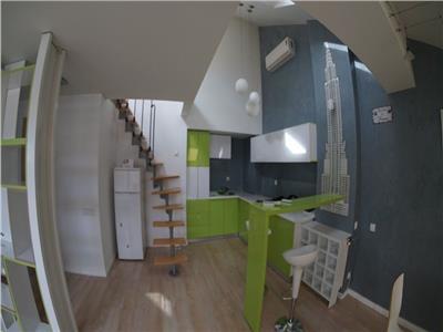 Apartament 2 camere, MODERN, semidecomandat, cartier BUNA ZIUA, mansarda