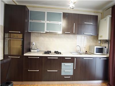 Apartament cu 3 camere  mobilat  parcare subterana  Buna Ziua