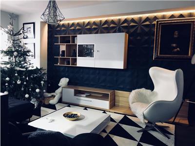 Apartament cu 3 camere 2 dormitoare - DE LUX-