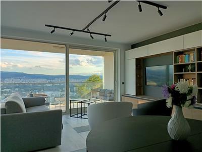 Apartament 4 camere, Ultrafinisat, 100mp + terasa 30mp, Gruia