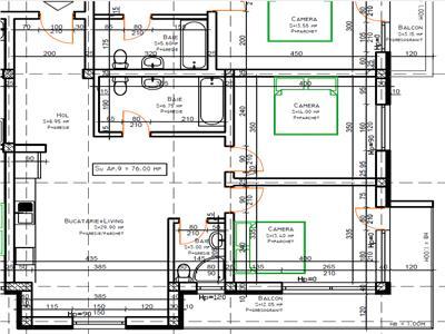 Apartament 3 camere Baciu